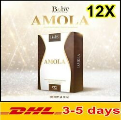 12x Amola Supplement Weight Loss Control Fat Burn Slimming Authentic 100