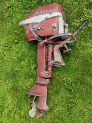 Parting Out Johnson Evinrude 7.5hp Ad-10 Johnson Boat Motor Outboard Parts