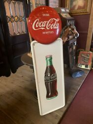 54 Coca Cola Tin Framed Advertising Sign Watch Video
