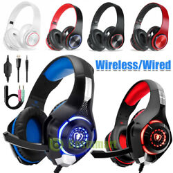 3.5mm Gaming Headset Led Headphones Stereo Surround For Ps3 Ps4 Xbox One X Ipad