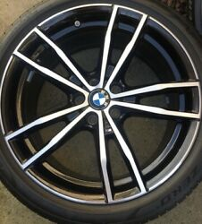 19andrdquo Genuine Bmw Staggered G20 3 Series Alloys And Tyres Set Of 4