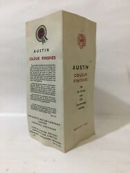 Vintage Austin Motor Company Color Finishes For 10-12-cwt And 152 Commercial Ve