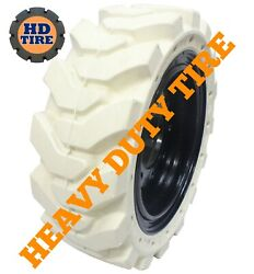 2 33x12-20 Traxter Solid Non-marking On 8 Hole Wheel 33x12x20 331220 Tyre