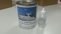 White Gelcoat Cruiser Boats Color Repair Kit Without Wax With Hardner 1pint