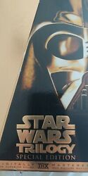 Vhs Star Wars Trilogy 1997 Rare Special Gold Edition Box Set 20th Century Vhs