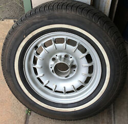 Vintage Mercedes Benz 300 Cd 300 Td 14 5 Lug Wheel And Tire P/n1264001902