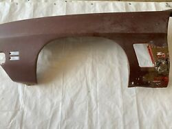 1972 Gto Driver Side Fender Left 455 Ho Convertible Lemans Judge One Year Only