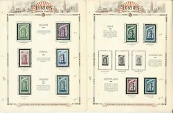 Europa Stamp Collection On 10 White Ace Pages, 1956-1959, Jfz