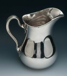 Gorham Sterling Silver Water Pitcher 8.25 Pints 9.5 Very Nice