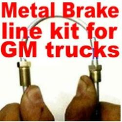 Brake Line Kit Chev Gmc Trucks 1968 1969 1970 1971 1972 -replace Rusted Lines
