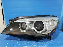 2013-2015 Bmw 7-series F01 Left Side Driver Side Xenon Headlight Complete