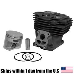 52mm Cylinder Piston Kit Replacement For Stihl Ms441 Chainsaw 1138 020 1201