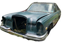 Vintage 1970andrsquos Mercedes Benz 280s W108 Body And Accessories
