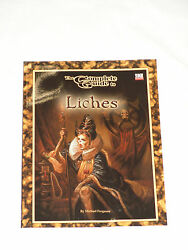 The Complete Guide To Liches Dungeons And Dragons Goodman Games D20 3.0 New