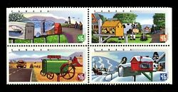Canada No 1852a 1849 To 1852 Rural Mailboxes Mint Nh