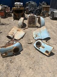 Divco Milk Truck Original Fenders Hood And Grille W/headlight New Mexico Barn Find