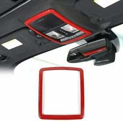 Reading Light Decoration Trim Accessories For Dodge Challenger 2010 Up Red