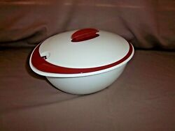 Tupperware 4946 Heat-n-serve Insulated Serving Dish Legacy