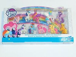My Little Pony Rainbow Equestria Favorites Collection 10 2.5in Mini Figures NIB