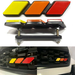 High Quality For Toyota Tacoma 4runner Tundra Tri-color 3 Grille Badge Emblem Ea