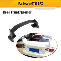 Fit For Toyota Gt86 Subaru Brz 2013-2020 Rear Trunk Spoiler Boot Wing Carbon