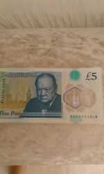 Aa Very Rare Five Pound Note-collectible