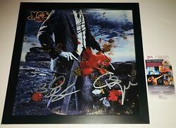 Yes Legendary Band Signed Autographed Framed Tormato Album Psa/dna Coa Squire