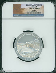 2012-p Chaco Culture America Beautiful Atb 5 Oz Silver Ngc Sp69 First Release Fr