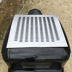 Xlarge Louvered Panel 44 X 42 Dome Louver Roof Deck Lid Trunk Skin Insert Scta