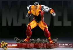 Marvel Colossus Polystone Statue Exclusive Comiquette By Sideshow Used Jc