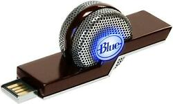 New Blue TIKI Noise Canceling Laptop USB Microphone for Skype Recording $16.99