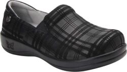 Alegria By Pg Keli Pro Clog Shoes Womenand039s In Plaid To Meet You Leather - New