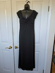 David Meister Formal Black Classic Gown Size 10 $55.00