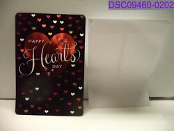 Qty = 8 Happy Hearts Day 19 X 13 Jumbo Card Valentines Day Greeting Card