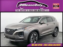 2020 Hyundai Santa Fe 2.0T Limited FWD Off Lease Only 2020 Hyundai Santa Fe 2.0T Limited FWD Intercooled Turbo Regular