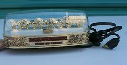 Vintage Rare 1876 Anheuser Budweiser Clydesdale Horse Wagon Light Up Collectible