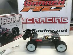 Lc Racing 114 Emb Brushless Motor Off Road 4wd Rc Car Truggy Artr 1/14 Clear
