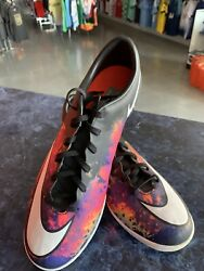 Nike Mercurial Victory V Cr7 Ic Indoor Shoes Hot Lava Black Man 11 Only