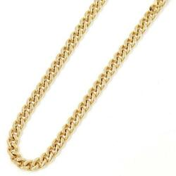 Jewelry 18k Yellow Gold Necklace About29.9g About58cm Kihei Free Shipping Used
