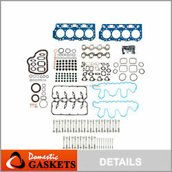 Full Gasket Set 0.037 Thick Head Bolts Fit 04-10 Gm 6.6l Chevrolet Duramax