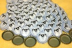 100 Fat Head's Heads Brewery White Purple Beer Bottle Caps New Uncrimped Free Sh