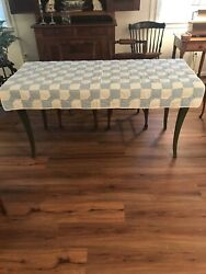 37 X 61 Hand Made Quilt For Table wall baby chair throw afghan etc