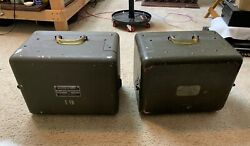 Signal Corps U.s Army Projector Set An / Pfp-1 Af Tube Amps Am 424a - One Pair