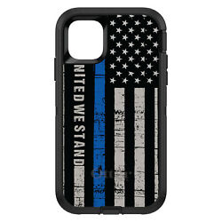 Otterbox Defender For Apple Iphone Pick Model Thin Blue Line Us United Stand