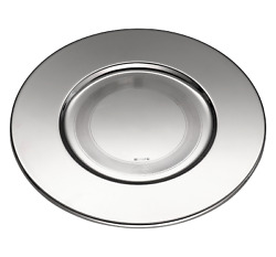 Uni By Christofle Silver-plated Charger Presentation Plate Timeless - 04106965