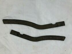 Cadillac Brackets Pair Grill Bumper Front Rear 1951-1961