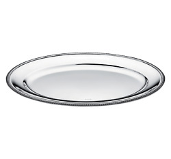 Malmaison By Christofle Silver-plated Oval Platter Large - 04120145