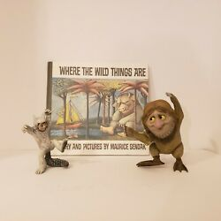 Where The Wild Things Are Book And 2 Mcfarlane Action Figure Toys Tzippy And Max
