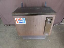 Vintage 1960-1970and039s Pepsi Cola Cooler Works S118