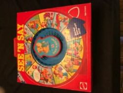 Mattel See And039n Say Safe And039n Sound Vintage 1985 Play Toy Fun Learn Safety In Box